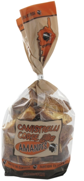 Canistrelli Charles Antona aux Amandes 300g